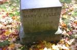 Mary J. Fuller, d. 1888