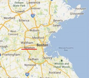 Where is Newton, MA