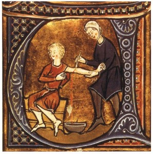 Barber-Surgeon, Bloodletting